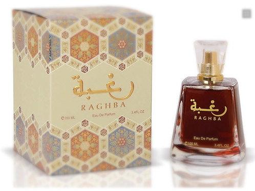 Raghba Edp Spray For Her 100 ml By Lattafa Perfumes $ 45