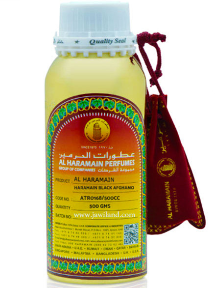 Black Afghano Oil 500 gm By Al Haramain Perfume $105