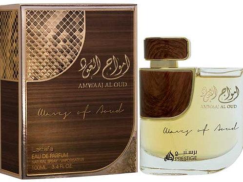 Amwaj Al Oud Edp Spray 100 ml By Lattafa Perfumes $ 43