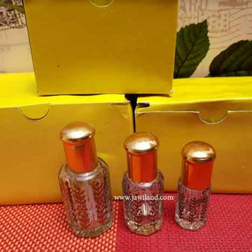 (3 box Mix Size ) 36 pcs Empty Glasses Bottles For Perfumes With Stick