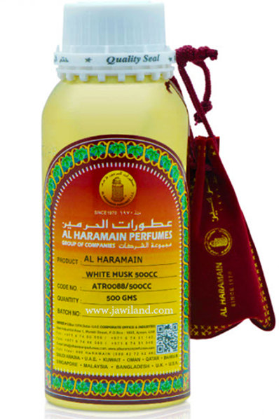 White Musk  Oil 500 g By Al Haramain Perfumes $105