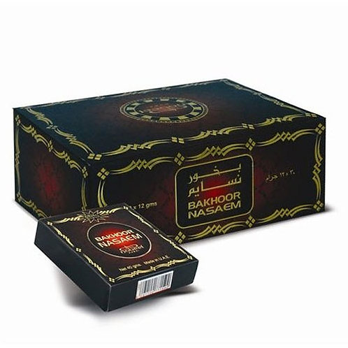 Bakhoor Nasaem 12 x 40 gm By Nabeel $ 58