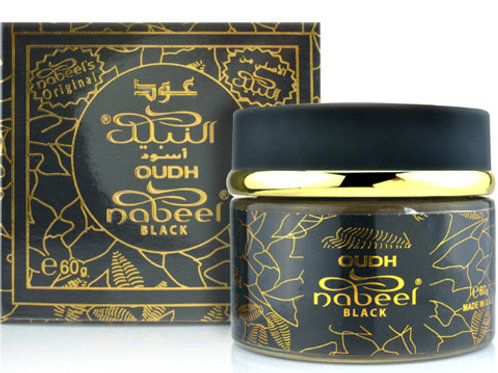 Nabeel Incense ( Oudh Black ) 60 gm By Nabeel P