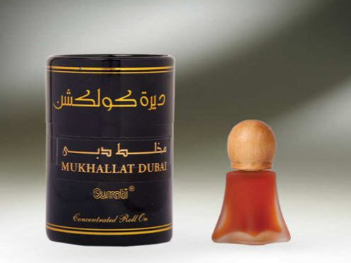 ( Deera Colletion ) Mukhallat Dubai  ROLL-ONS  8ML Oil By Al Surrati Perfumes