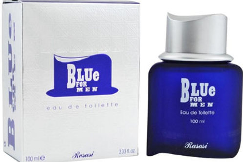 Blu For Men 100 ml Edp Spray By Rasasi Perfumes $39