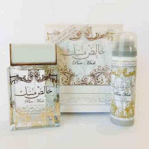 Khalis Musk (Pure Musk ) With Deo Edp Spray 100 ml By Lattafa Perfumes $ 43