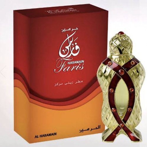 Al Haramain Faris Oil 12 ml $ 35