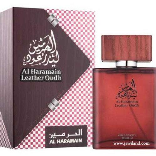 Al Haramain Leather Oudh  Spray 100 ml $ 59