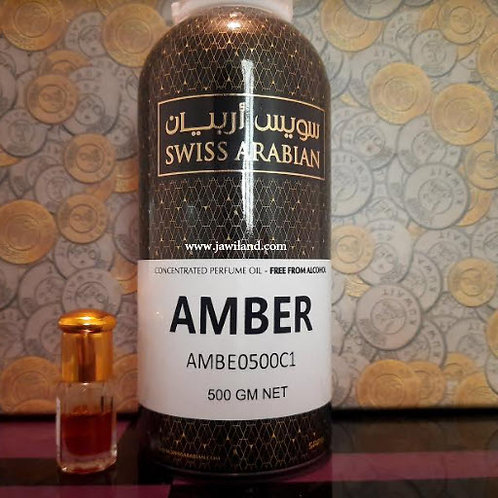 Amber Oil 500 ml Swiss Arabian Perfumes