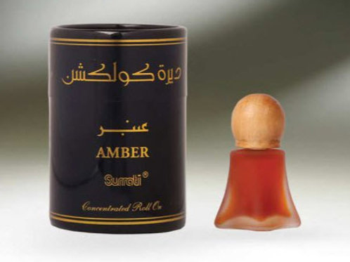 ( Deera Colletion ) Amber  ROLL-ONS  8ML Oil By Al Surrati Perfumes