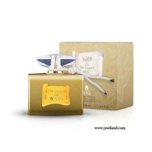 Legend Gold 50 ml Edp Spray  By Abdul Samad Al Qurashi Perfumes For Women  $ 87