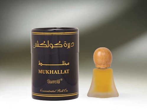 ( Deera Colletion ) Mukhallat  ROLL-ONS  8ML Oil By Al Surrati Perfumes