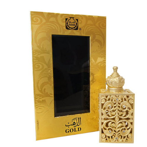 Gold Oil 12 ml  Oil By Al Surrati Perfumes