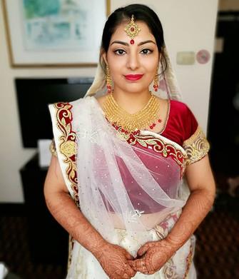 The lovely bride! Congratulations Binal!