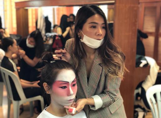 Theatrical Makeup Event at Dewan Sri Pinang