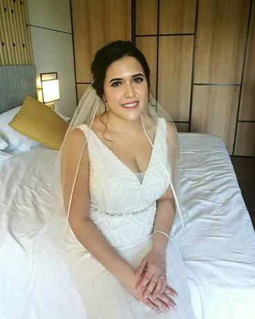 The lovely bride Samina! Thanks for havi