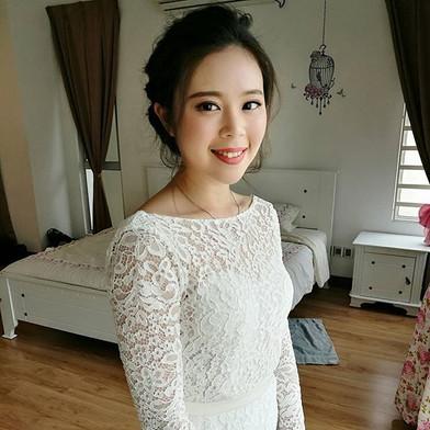 The pretty bride Michelle!!👰😉Makeover