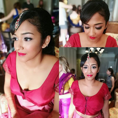 Lovely bride of the day!! 👰❤ Makeover f