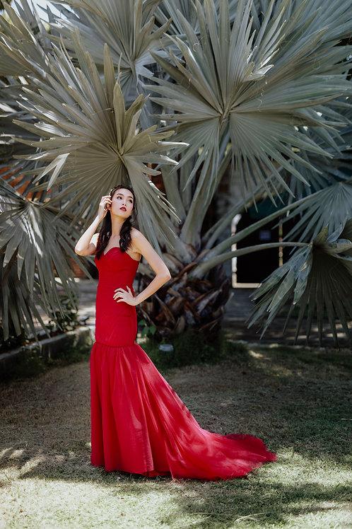 Red Wedding Dress