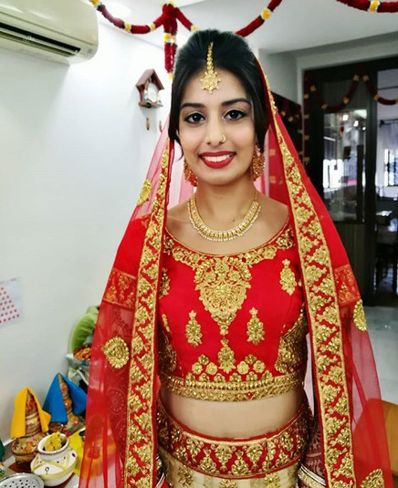 The lovely bride Sonaal! ❤👰_Thanks for