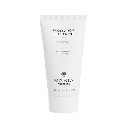 Face lotion Supplement