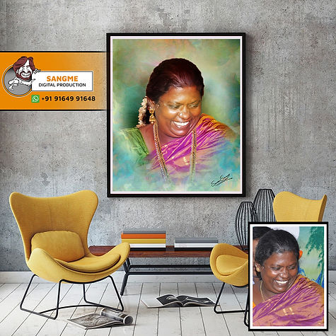 Handmade sketch | photo to painting | digital potrait oil painting | Handmade Portraits - Gift a portrait to your loved ones |  Order Handmade Oil Painting Portrait | Digital Portrait Painting | Digital Oil Painting | .jpg