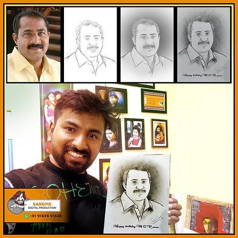 Sketch Artist In Bangalore | pencil sket