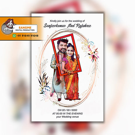 caricature wedding invitations online card artist in Bangalore | Save the date caricature card! | Caricature wedding invitations, Caricature wedding, | wedding caricature | Wedding caricature, Caricature wedding invitations,  | wedding invitation_A_02.jpg