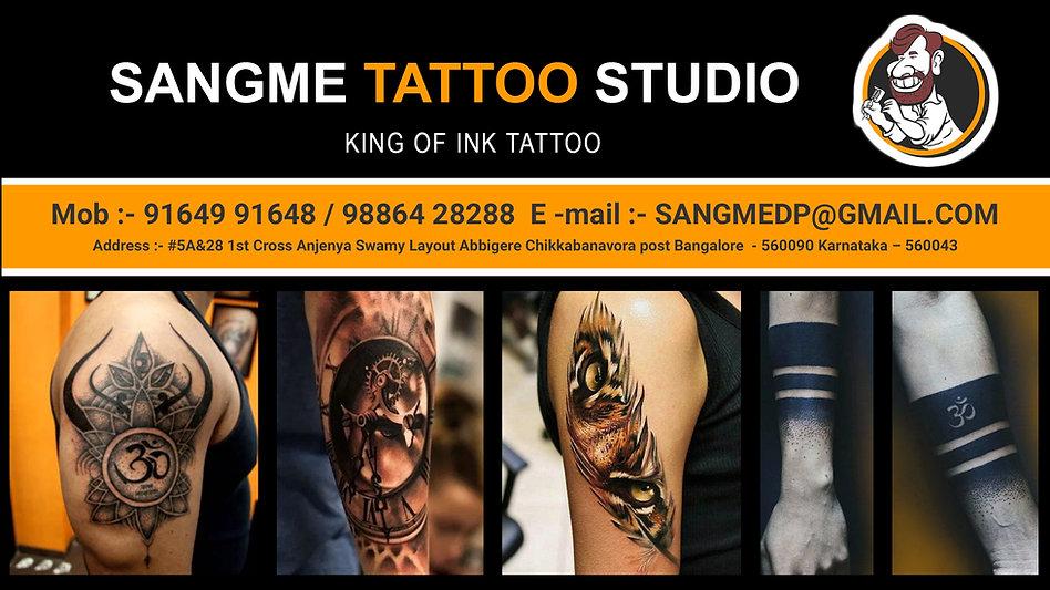 sangme tatoo studio google web template.