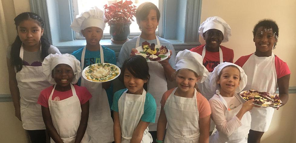 kids cooking camp