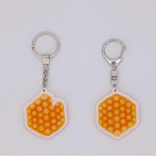 Bubblewrap Key Ring