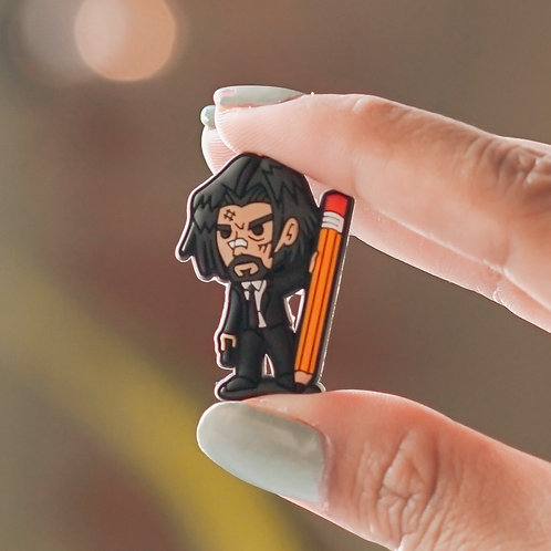 Mr. Wick Collectible Pin