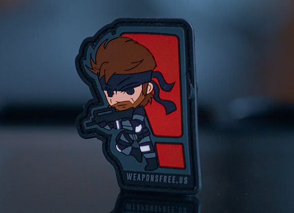 Solid Snake Morale Patch