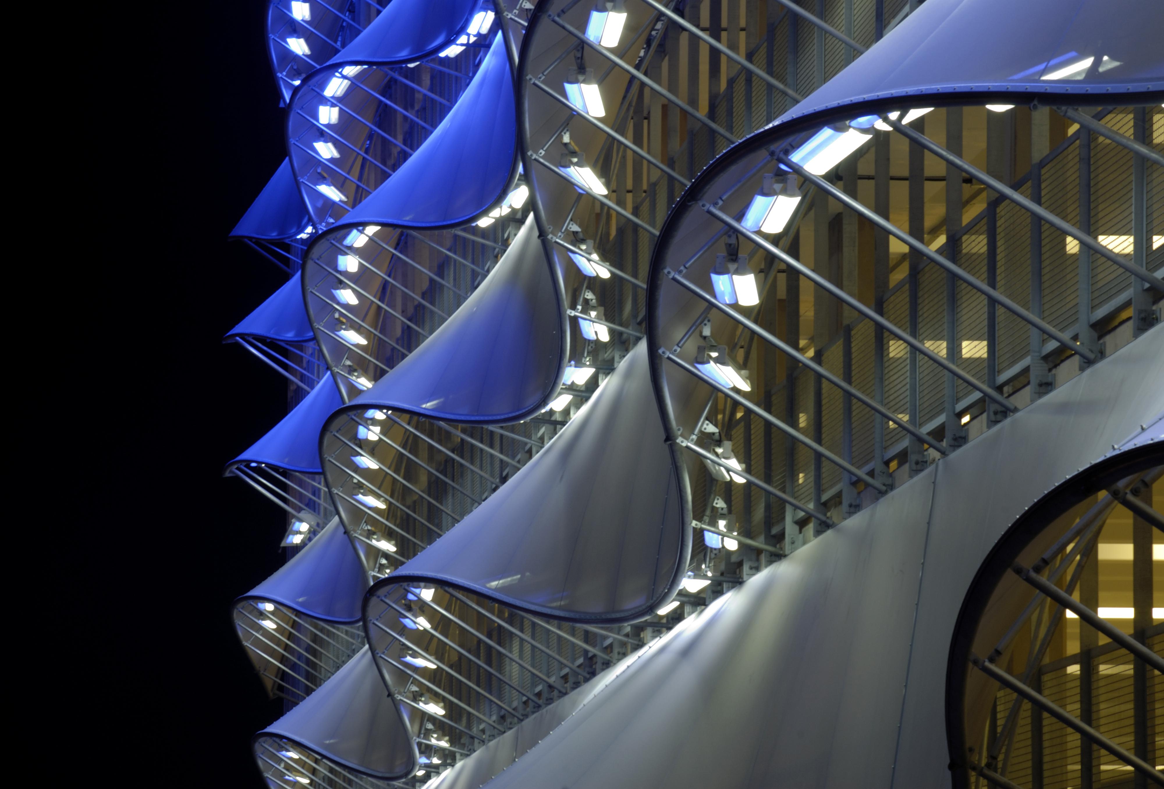 Modern Tensile  Facade