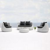 Outdoor Wicker Sofa - Classique