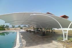 Tensile Pool Enclosure
