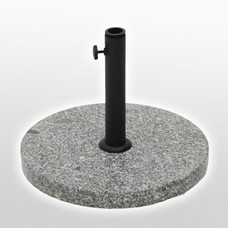 Outdoor Fixture - Umbrella - Base - Granite -Round