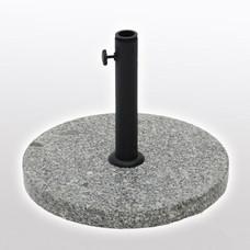 Outdoor Fixture - Umbrella - Base - Granite -Round