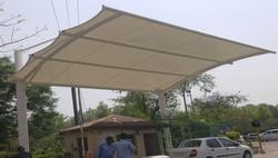PVDF Tensile Membrane Toll gate