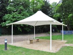 PVDF Tensile Fixed Tent