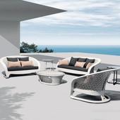 Outdoor Furniture - Wicker Sofa - Amsterdam