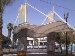 Tensile Arc Gate way