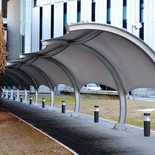 Tensile Arc walk way