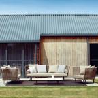Outdoor Braided & Rope Sofa - Undulate