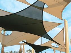 Tensile Membrane Overlap Shade
