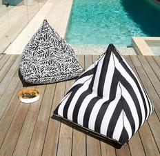 Outdoor Fully Upholstered Bean Bag