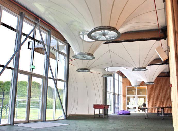 PVDF Tensile Membrane Roof