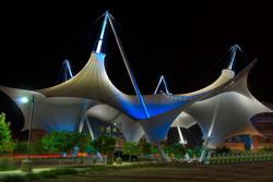 PVDF Tensile Membrane Architecture
