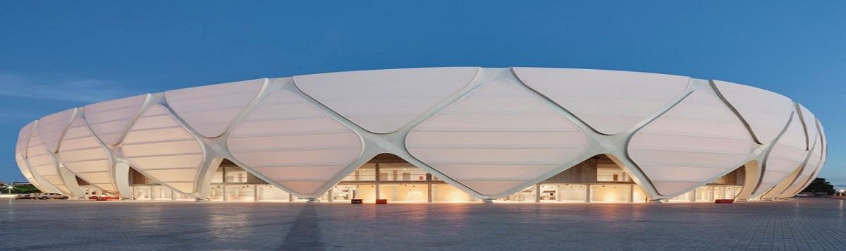 Tensile Membrane Stadium Facade
