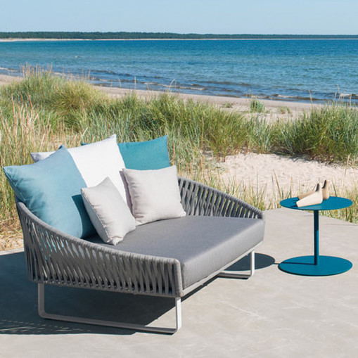 Outdoor Braided & Rope Daybed - Undulate